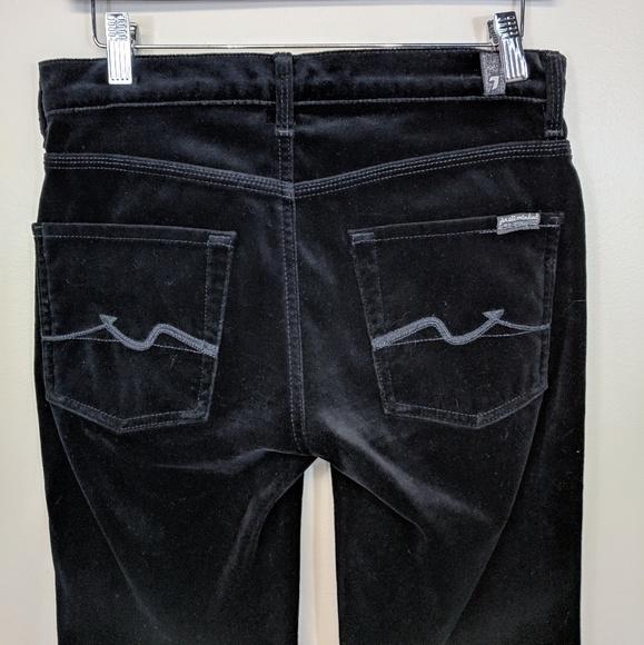7 For All Mankind Denim - 7 For All Mankind Velvet Jeans